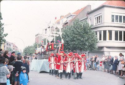 Foto stoet 1978 uit het stadsarchief